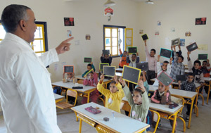 La dictée en arabe dans les écoles françaises