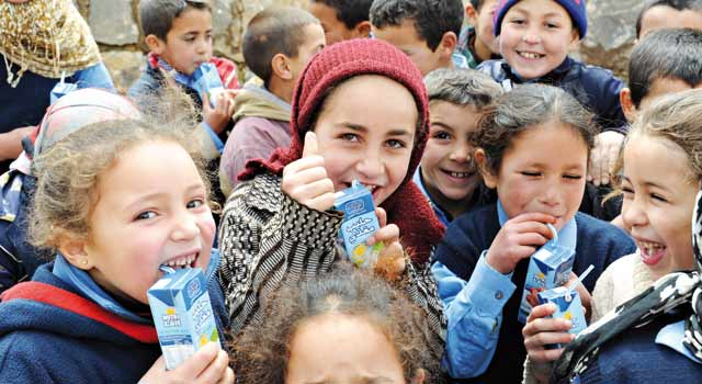 Centrale Laitière combat la malnutrition: Plus de 23.000 «P'tit Dej'» distribués à des écoliers