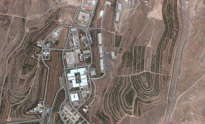 La télévision syrienne diffuse des images du site attaqué