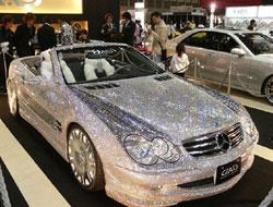 Mercedes SL «diamants» : une fausse perle rare