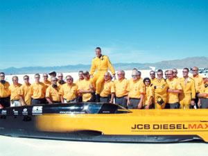 Automobile : JCB Dieselmax : le plus rapide des engins à mazout
