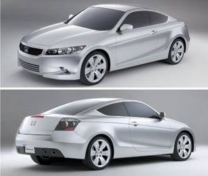 Automobile : Honda Accord Coupé : Fraîcheur stylistique