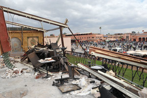 Analyse publiée par le Quotidien d'Algérie le 29 avril 2011 : Attentat de Marrakech, pistes de lecture…