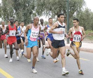 6000 marathoniens à Marrakech