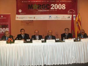 Tanger : Mission  du port de Barcelone au Maroc