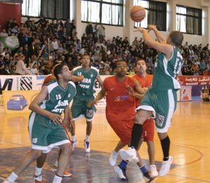 Championnat arabe des clubs champions de basket-ball : L'ASS offre le titre de la 24 édition au club émirati de Sharjah