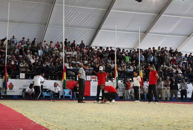 Les marocaines remportent la Coupe des Nations de pétanque