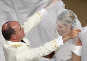 Charlene et Albert de Monaco se sont dit «oui»