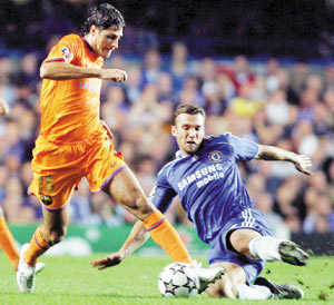 Manchester-Chelsea, la main dans la main