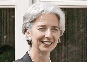 Sommet du G8 à Deauville : Les Européens plaident la candidature de Christine Lagarde au FMI