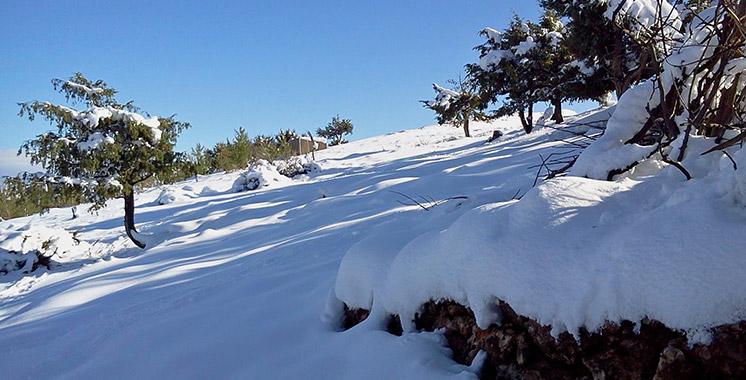Alerte météo : importantes chutes de neige sur le Royaume
