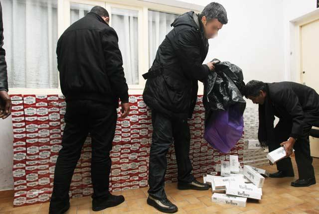 Saisie à Casablanca de 9.600  cartouches de cigarettes