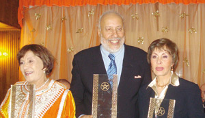 Hommage à Amina Rachid, Abdelkader Moutaâ et Latifa Souihli