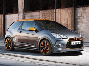 Citroën DS3 Racing : chevrons chics, version «Orange mécanique»