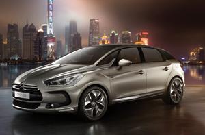 Révélation : Citroën DS5 Un bel écrin «décapsulé» à Shanghai
