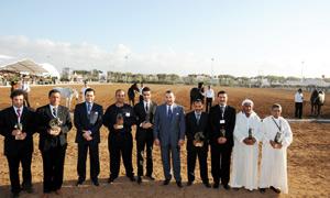SM le Roi préside la cérémonie de clôture du Salon du cheval d'El Jadida