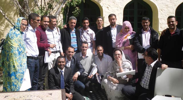 Droits de l Homme à Laâyoune : Cinq jours pour parler paix, démocratie  et justice sociale