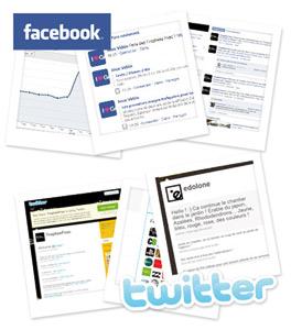 Facebook autorise le basculement de ses pages sur Twitter
