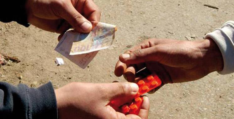 Kénitra : Arrestation d'un individu en possession de plus de 2.600 comprimés psychotropes