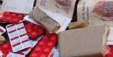Tanger : Saisie de haschich, d'ecstasy, de Rivotril, de cocaïne et d'héroïne