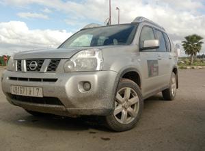 783 km en Nissan X-Trail : Un chameau à Mogador