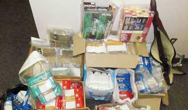 Lutte contre la contrebande et le trafic illicite  de produits stupéfiants