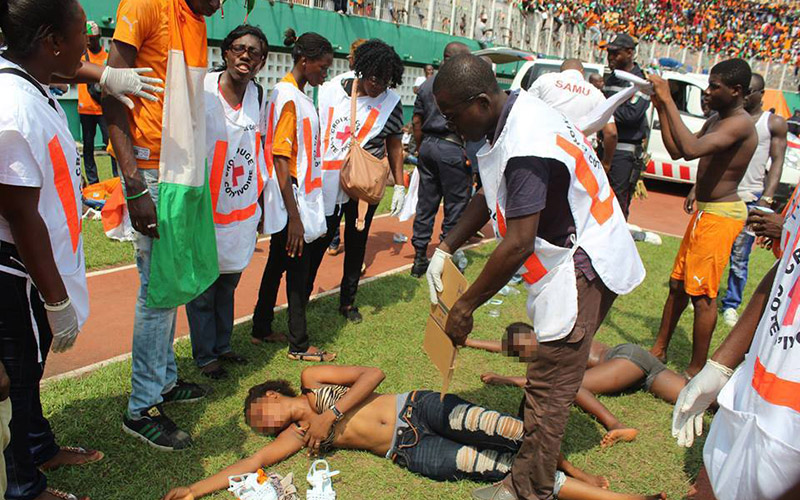 En images – La Côte d'Ivoire fête son triomphe au stade Felix Houphouet Boigny