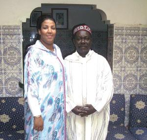 Malika Mechhour et Maâlem Mahmoud Guinea : «Mahmoud est l'homme de mes rêves»