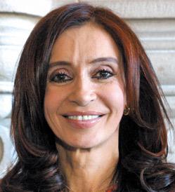 Argentine : Cristina Kirchner élue présidente