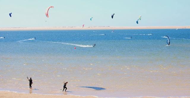 Dakhla, paradis du kitesurf