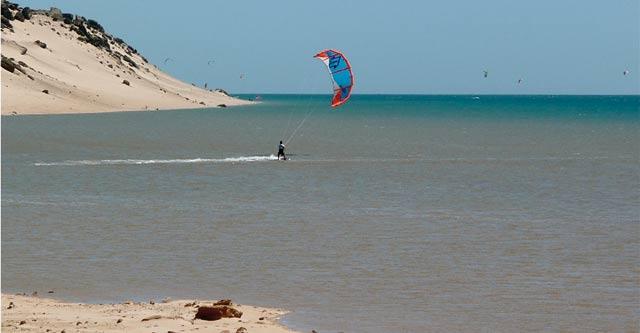 Dakhla capitale mondiale  du kitesurf