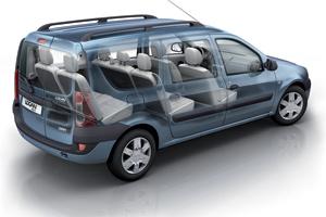 Dacia Logan MCV : Grand volume à prix discount