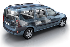 Dacia Logan MCV : Grand volume à prix discount