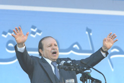 Algérie : Bouteflika préfère l'amnésie