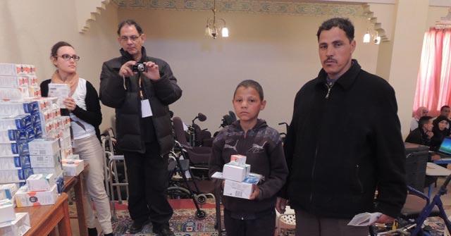Action humanitaire  : Des Marocains de Dreux à la rescousse  des populations de Tinghir