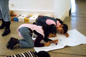 Quand des enfants découvrent l'art contemporain