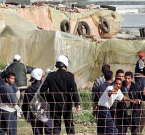 Maroc-Espagne : Des Marocains revendiquent le droit au bidonville