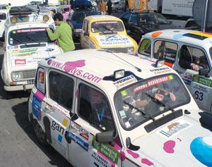 Automobile : «4L Trophy» 2007 : 1.000 R4 en vadrouille