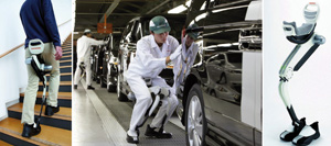 Honda invente des jambes artificielles et robotisées