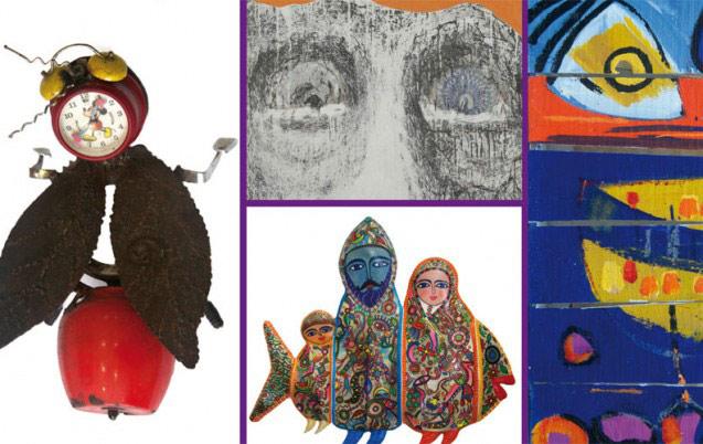Des œuvres d'une vingtaine d'artistes  à la galerie Fan Dok de Rabat