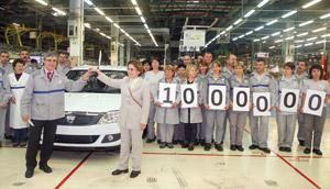 Dacia : trois faits marquants, dont un million de Logan