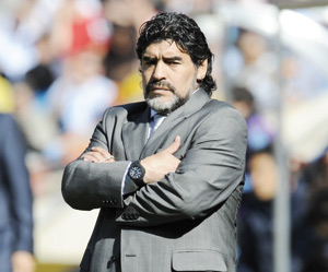 Argentine : Maradona qualifie Batista de «pauvre type»