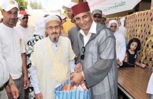 Un don en nature d'un million DH en faveur de 5.000 familles démunies