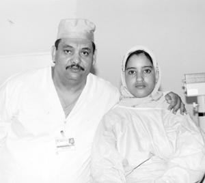 Hayat Amjaâ, revoir après 14 ans de cécité