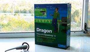 Logiciels : évaluation de Dragon Naturally Speaking 10.1