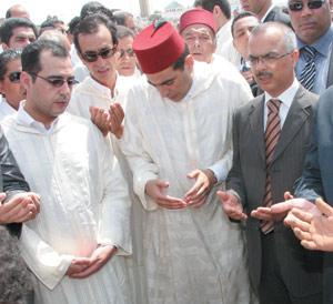 Chakib Benmoussa assiste aux obsèques de l'ancien ministre de l'Intérieur