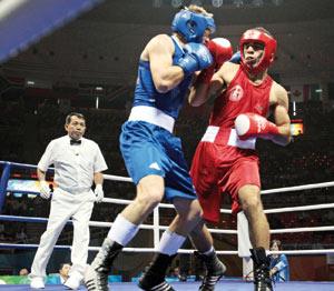 Boxe : Moussaid premier qualifié au deuxième tour