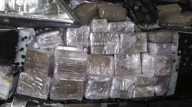 Démantèlement d un réseau  criminel de trafic de drogue entre  le Maroc et la France