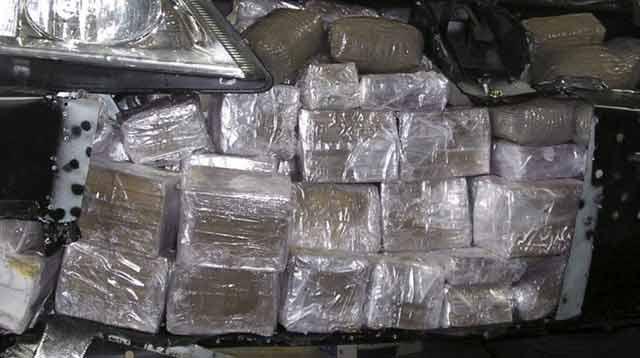 Saisie de plus de 2,2 tonnes de chira par la Gendarmerie Royale d'Oujda