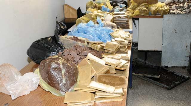 Casablanca: saisie de 11 kg de résine de cannabis et arrestation d'un trafiquant de drogue